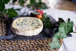 fromage d'Auvergne AOP incontournable, la fourme d'ambert. Fromage AOP à la pate persillée affiné en caves naturelles.